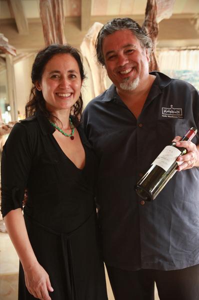 Laura Catena & Charlie Atuarola at the 2011 Punta Mita Gourmet & Golf  Classic